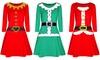 Christmas Santa Costume Dress