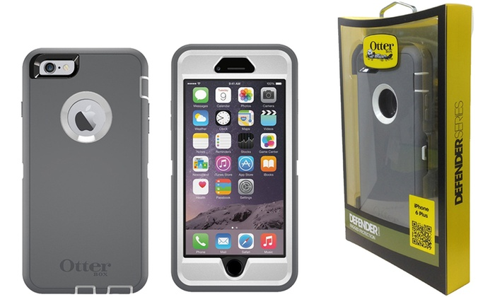 ... OtterBox Defender Case for iPhone 6 Plus 6s Plus ... 8ae761139adc