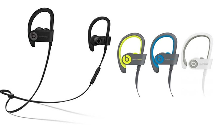 beats by dr dre powerbeats 3 wireless bluetooth earbud headphones groupon. Black Bedroom Furniture Sets. Home Design Ideas
