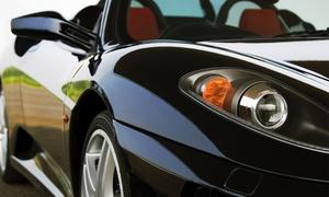 NOLEGGIO AUTO ESCLUSIVE: 2, 4 o 8 giri da 15 minuti in Ferrari con autista alla concessionaria Noleggio Auto Esclusive (sconto fino a 77%)