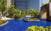 Pool Access with Lunch or a Drink for One or Two at Purobeach Urban Oasis Dubai (Up to 37% Off)