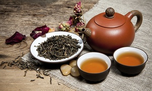 ThéSalon / TeaSalon: 10 Types of Blooming Flower Tea with 60-Minute Class at TeaSalon (67% Off), 3 Locations Available