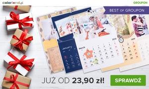 Colorland: Od 23,90 zł: 13-stronicowy fotokalendarz A3 pionowy z Twoimi zdjęciami na Colorland.pl (do -78%)