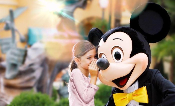 ✈ Paris: 2 or 3 Nights with Breakfast, 1-Day 2 Parks Ticket and Return Flights or Eurostar at Kyriad Disneyland Hotel*