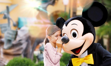 ✈ Paris: 2 or 3 Nights with 1Day 2 Parks Ticket and Return Flights or Eurostar at Kyriad Disneyland Hotel*