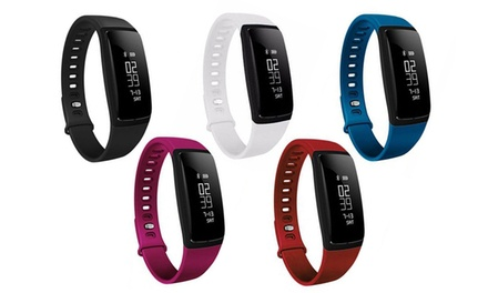Fitness Activity Tracker with Blood Pressure and Heart Rate Monitor (V7)