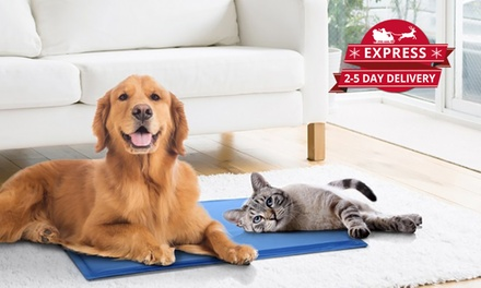 Large Pet Cooling Mats: One $15 or Two $28 Don't Pay Up to $138