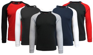 Galaxy by Harvic Men's Raglan Thermal Shirt at Galaxy by Harvic Men's Raglan Thermal Shirt, plus 6.0% Cash Back from Ebates.