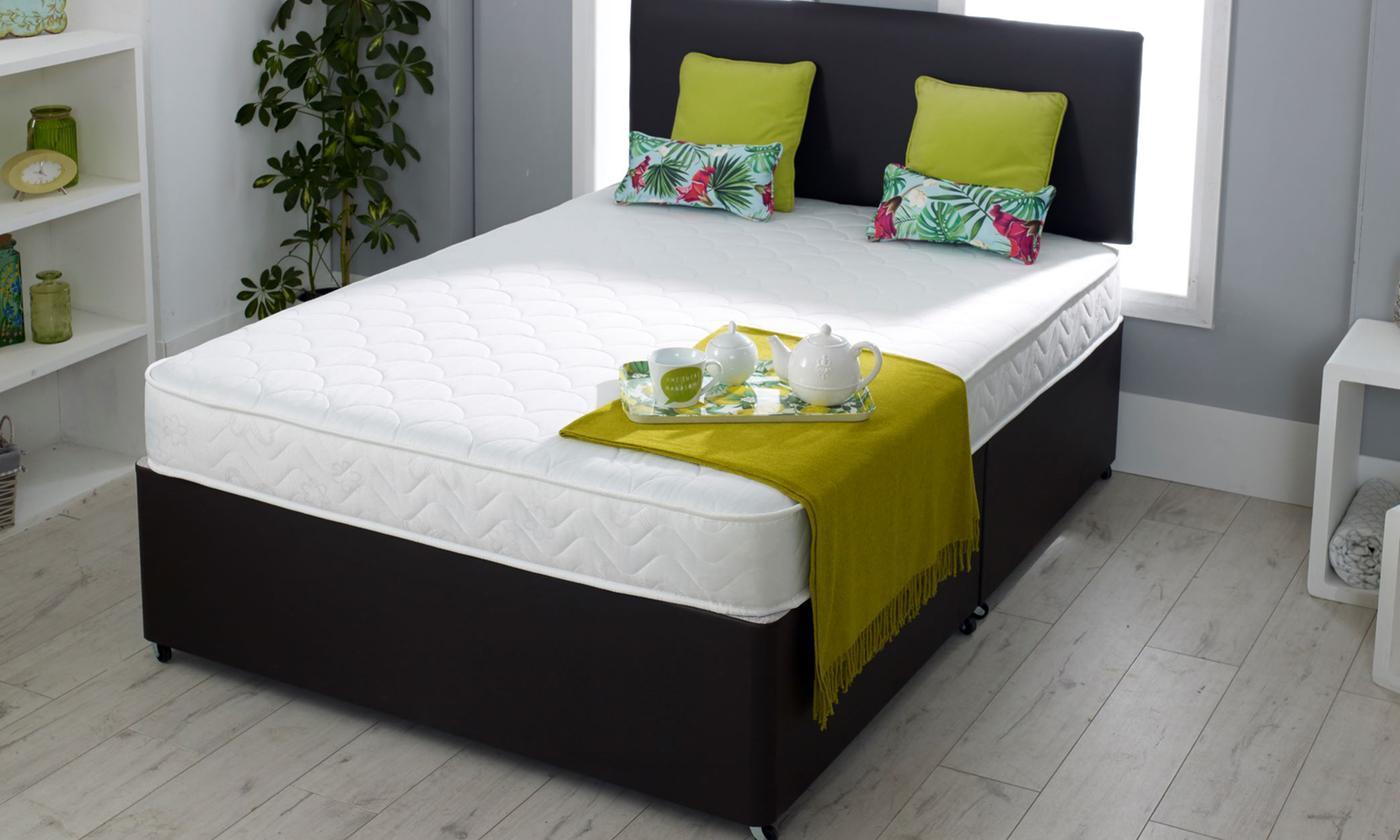Shell Cool Touch Bonnell Sprung Memory Foam Mattress from £49.99 (62% OFF)