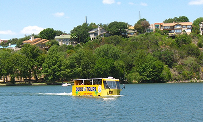 Austin Duck Adventures - AUSTIN VISITOR'S CENTER: Duck Tour for Two or Four from Austin Duck Adventures (50% Off)