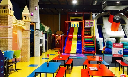 Indoor Play Centre Entry with Ride $5, 2 $8 or 4 Kids $12 at Xanadu Playcentre and Café Up to $52 Value
