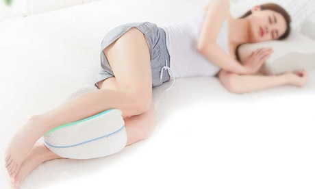 Cuscino divisorio per gambe e ginocchia in memory foam