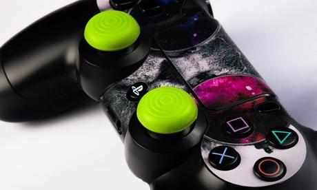 Couvre-joysticks en silicone G-Curve pour manettes PS4 et Xbox One, Livraison offerte