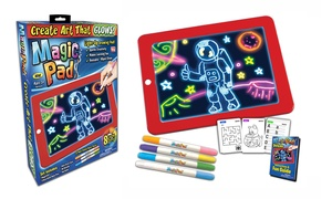 Magic Pad Light Up Drawing Pad for Kids