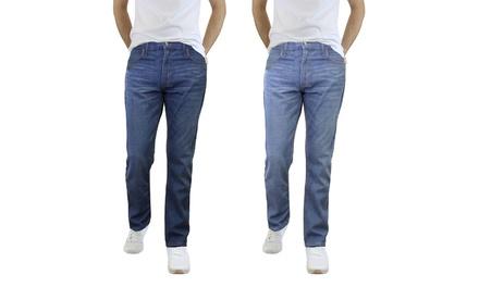 Men's Denim Slim-Fit Jeans