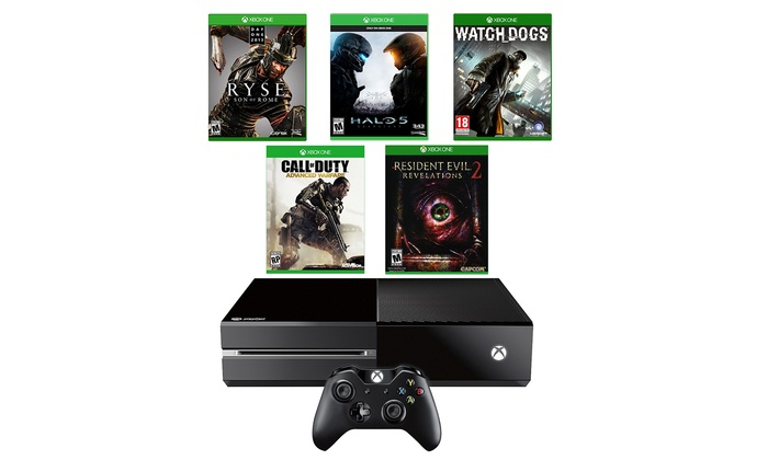 Microsoft Xbox One 1TB Bundle with 5 Games (Manufacturer Refurbished): Microsoft Xbox One 1TB Bundle with 5 Games (Manufacturer Refurbished)
