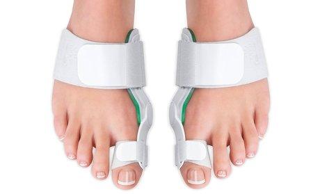 Medical-Grade Adjustable Bunion Toe Splint with Hinge