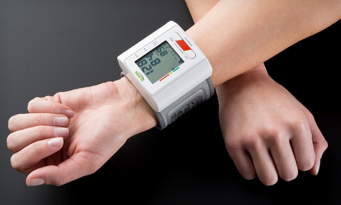 Digital Wrist Blood-Pressure Monitor: $25 for a Gurin Pro Series Digital Wrist Blood-Pressure Monitor ($98.95 List Price). Free Shipping and Free Returns.