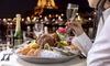 Croisière sur la Seine et dîner Romantique à 2 dès 99 € avec Eiffel Croisières
