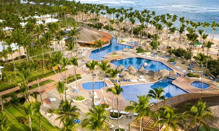 All-Inclusive Sirenis Cocotal Beach Resort Stay with Airfare