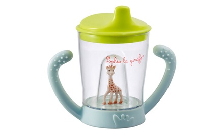 One or Two Sophie La Girafe Kids Sippy Cups