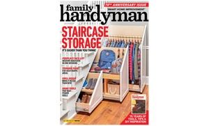 $12 Off Family Handyman Magazine Subscription for One Year