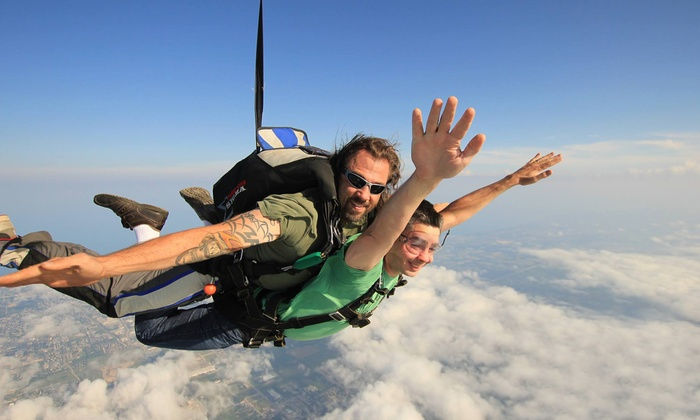 Skydive Midwest - Sturtevant: $149 for a Tandem Jump from Skydive Midwest in Sturtevant (Up to a $229 Value)