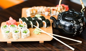 Kawayi Sushi Bar: All-You-Can-Eat Sushi and Green Tea for Two for R149 at Kawayi Sushi Bar