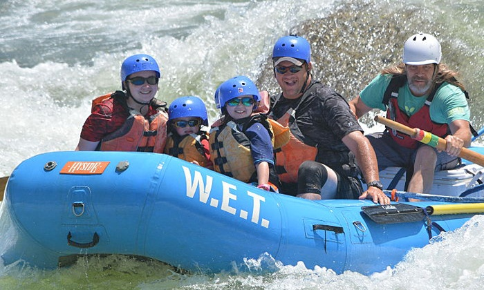 WET River Trips - Lotus, CA | Groupon