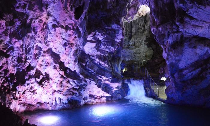 Ingresso alle Grotte di Pertosa Auletta con percorso turistico o completo per 2 persone (sconto fino a 73%)
