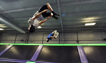 One or Two 60-Minute Jumps or Birthday Party at Just Jump Trampoline Park - Bristol (Up to 37% Off)