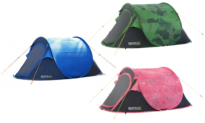 purchase cheap 62043 6b378 Regatta 2 Person Pop-Up Tent | Groupon