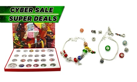 Christmas Charm and Bracelet Advent Calendar: One ($19) or Two ($35)