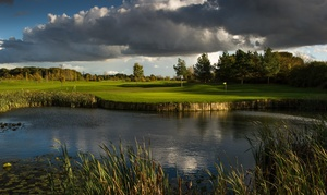 Stapleford Abbots Golf Club: Round of 18-Hole Golf Plus Bacon Roll and Coffee or Burger and Beer at Stapleford Abbots Golf Club (Up to 72% Off)