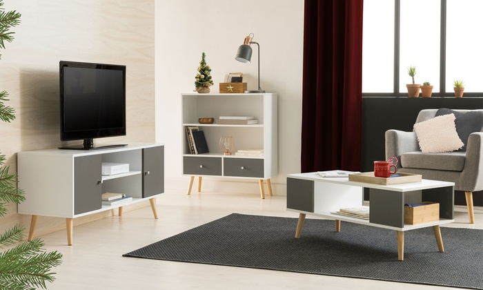 Mobili Scandinavi On Line : Fino a su mobili da soggiorno stile scandinavo groupon