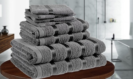Eight-Piece Cotton Towel Bale
