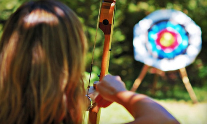 Archery Headquarters Academy - Chandler: Intro-to-Archery Lesson for Two or Six-Week Summer Course for Two at Archery Headquarters Academy (Half Off)
