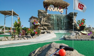 Up to 46% Off Mini Golf  at The Ruins Adventure Mini Golf at The Ruins Adventure Mini Golf, plus 6.0% Cash Back from Ebates.