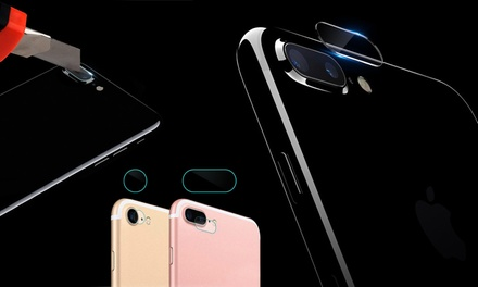 1 o 2 protectores de cámara trasera de cristal templado para iPhone