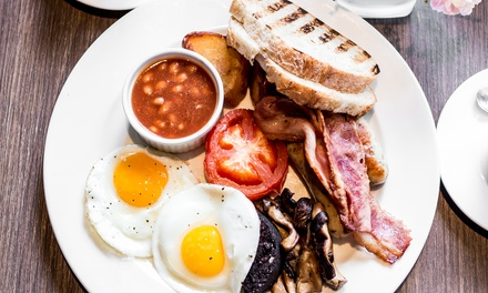 Traditional English Breakfast for Up to Four at Fownes Hotel (50% Off)