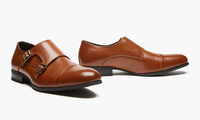 86c9de027feb Unlisted by Kenneth Cole Men s Eel Monk Dress Shoes(Sizes 10   11 ...