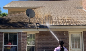 Up to 41% Off Roof Pressure Washing from Window Genie at Window Genie, plus Up to 6.0% Cash Back from Ebates.