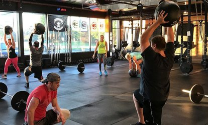 Five Personal Coaching Classes or One Month of Unlimited <strong>CrossFit</strong> Classes at <strong>CrossFit</strong> C2L (Up to 41% Off)