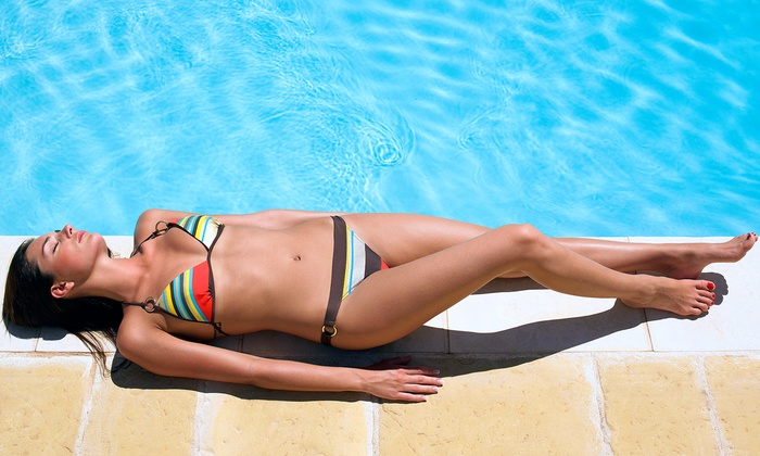 HB Tanning - Adams: One or Three South Sea Solution Airbrush Tans at HB Tanning (Up to 58% Off)