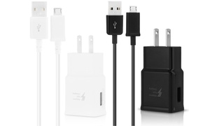 Samsung Fast Adaptive Charger with Micro-USB Cable at Samsung Fast Adaptive Charger with Micro-USB Cable, plus 6.0% Cash Back from Ebates.