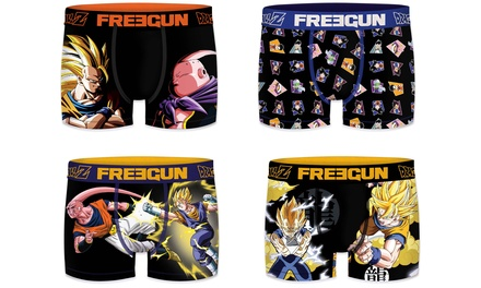 Pack de 2 o 4 boxers Freegun Dragon Ball Z