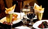 Two-Course Lunch with Wine for 2