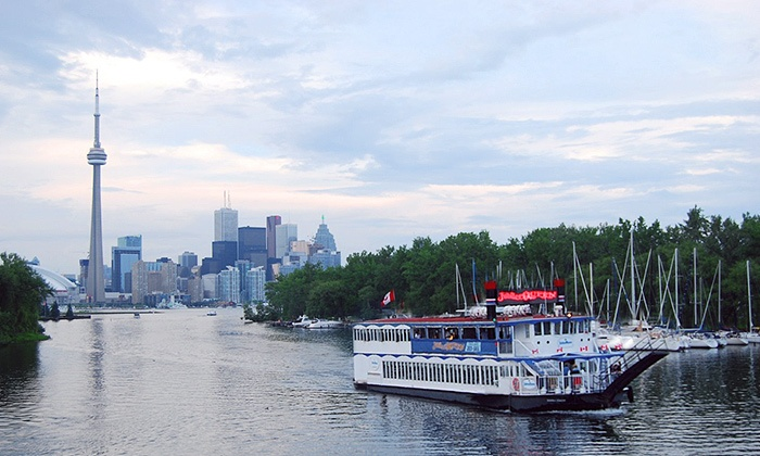 Jubilee Queen - Harbourfront: Lunch or Afternoon BBQ Cruise, Dinner Party, or Christmas Cruise from Jubilee Queen (Up to 49% Off)