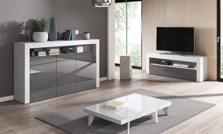 1 o 2 mobili da soggiorno in MDF disponibili in diversi colori
