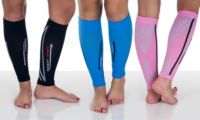 Remedy Calf Compression Sleeves: Remedy Calf Compression Sleeves. Multiple Colors Available. Free Shipping.